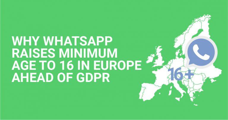 Alasan WhatsApp Menaikkan Batas Usia Minimum Pengguna di Eropa Menjadi 16 Tahun Menjelang GDPR