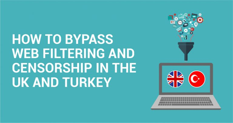 Cara Melewati Penyaringan dan Penyensoran Website di Inggris dan Turki