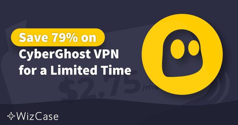 Kupon Promo VPN CyberGhost 2020: Hemat hingga 79% HARI INI! Wizcase