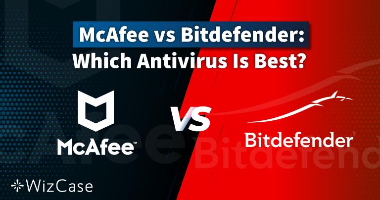 McAfee vs Bitdefender 2021: Manakah antivirus yang Terbaik untuk Anda?